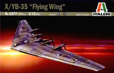 1277 - Northrop XB-35 / YB-35 Flying Wing 1/72