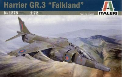 1278 - BAe Harrier GR.3 'Falklands' 1/72