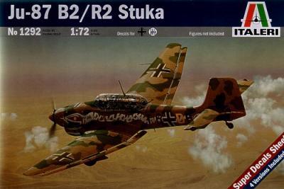 1292 - Junkers Ju 87B-2/R2 Stuka 1/72