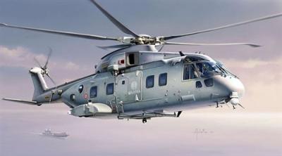 1295 - Westland EH-101 Merlin EHS 1/72