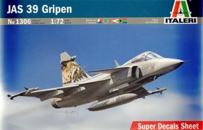 1306 - Saab JAS-39A Gripen 1/72