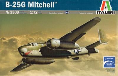 1309 - North-American B-25G Mitchell 1/72