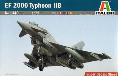 1340 - Eurofighter EF-2000B Typhoon 1/72
