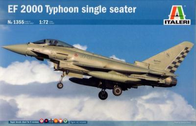 1355 - Eurofighter EF-2000A Typhoon Single Seater 1/72