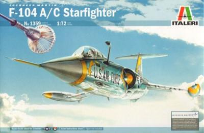 1359 - Lockheed F-104C Starfighter 1/72