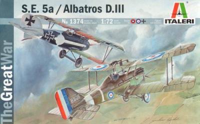 1374 - RAF SE-5 & Albatros D.III Combo Set 1/72