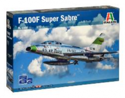 1398 - North-American F-100F Super Sabre 1/72