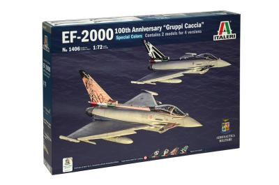 1406 - Eurofighter EF-2000 100th Ann. ''GRUPPI CACCIA'' 1/72
