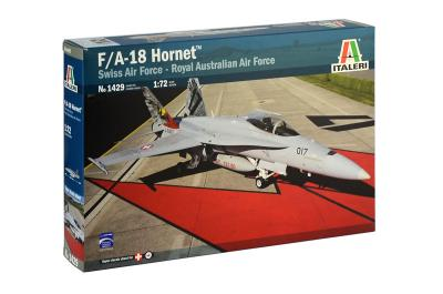 1429 - McDonnell-Douglas F-18 Hornet Swiss Air Force and RAAF 1/72