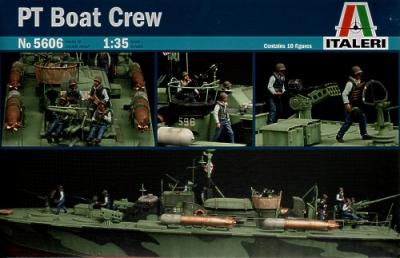 5606 - Elco 80' Torpedo Boat PT Boat Crew