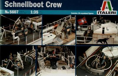 5607 - S-100 Schnellboot Torpedo Boat Crew