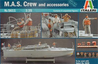 5611 - MAS 568 4a serie Italian fast patrol boat Crew and Accessories