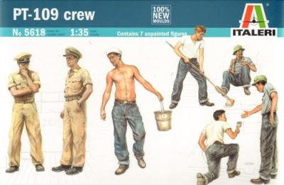 5618 - PT-109 Motor Torpedo Boat Crew and Accessories
