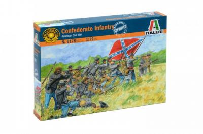 6178 - Confederate Infantry 1/72