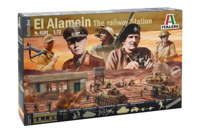 6181 - El Alamein - Battle At The Railway Staion 1/72