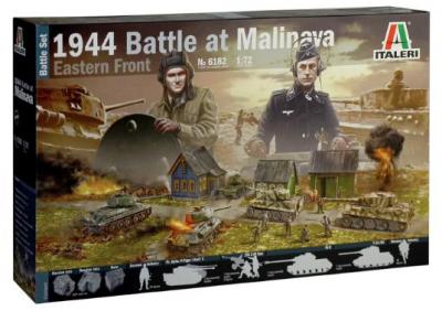 6182 - 1944 Battle of Malinava Diorama 1/72