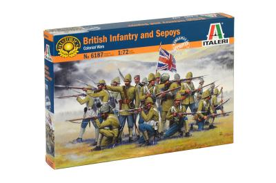 6187 - British Infantry and Sepoys (Colonial wars) 1/72