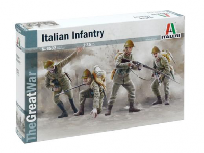 6532 - WWI Italian Infantry
