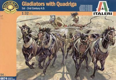 6874 - Gladiators with Quadriga