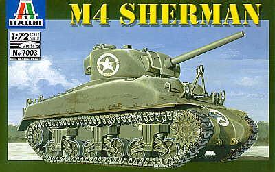 7003 - M4 Sherman 1/72