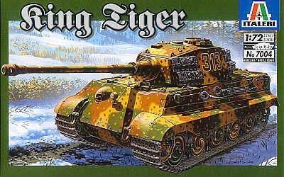 7004 - King Tiger Sd.Kfz.182 1/72