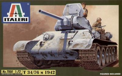 7008 - Russian T-34/76 1/72