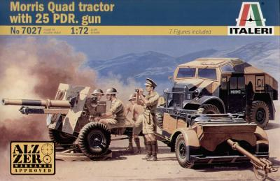 7027 - Morris Quad Tractor and 25pdr Gun 1/72