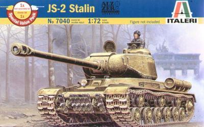 7040 - Jozef Stalin IS-2 Stalin 1/72