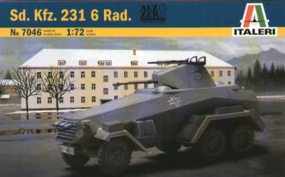7046 - German Sd.Kfz.231 6 RAD 1/72