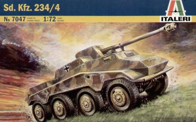 7047 - German Sd.Kfz.234/4 1/72