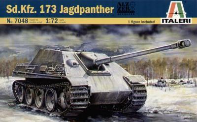 7048 - Sd.Kfz.173 JagdPanther 1/72