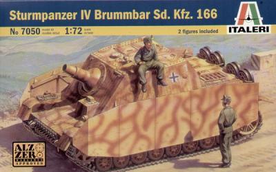 7050 - Sturmpanzer IV Brummbar Sd.Kfz.166 1/72