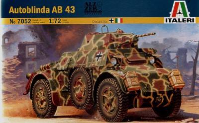 7052 - Autoblinda AB-43 1/72