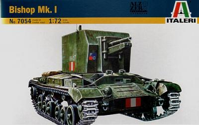 7054 - Bishop Mk.1 SP Gun 1/72
