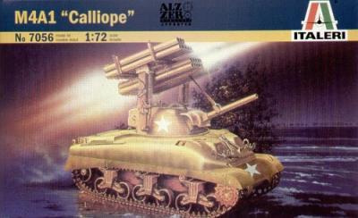 7056 - M4A1 Sherman Calliope 1/72