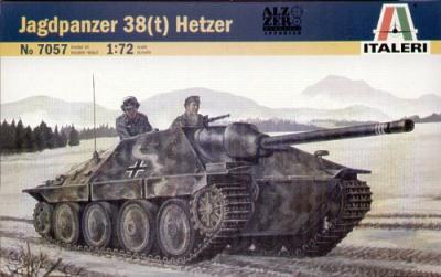 7057 - Jagdpanzer 38(t) Hetzer 1/72