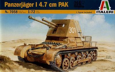 7058 - Panzerjager 1 with 4.7cm PAK 1/72