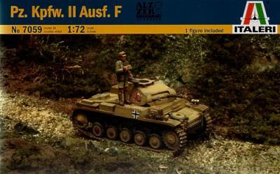 7059 - Pz.Kpfw.II Ausf.F 1/72