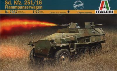 7067 - German Sd.Kfz.251/16 Flammpanzerwagen 1/72