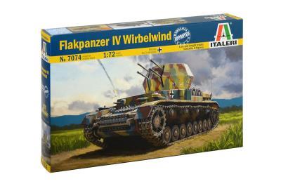 7074 - Flakpanzer IV Wirbelwind Sd.Kfz.161/4 1/72