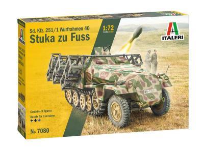 7080 - Sd. Kfz. 251/1 Wurfrahmen 40 Stuka zu Fuss 1/72