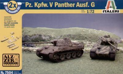 7504 - Pz.Kpfw.V Panther Ausf.G (2) 1/72