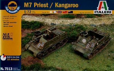 7513 - M7 Priest 105mm HMC (2) 1/72
