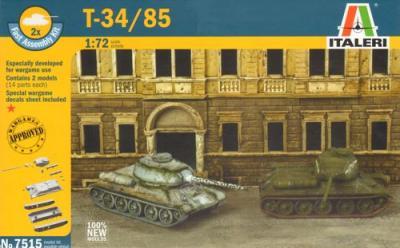 7515 - Russian T-34/85 (2) 1/72