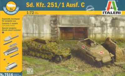 7516 - German Sd.Kfz.251/1 Ausf.D (2) 1/72