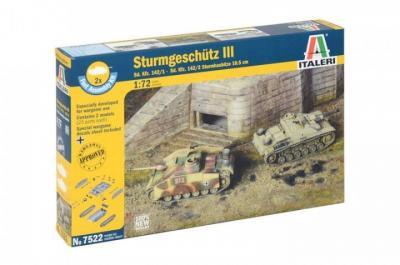 7522 - Sturmgeschutz/StuG.III Ausf.F Sd.Kfz.142/1 1/72