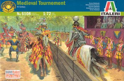 6108 - Medieval Tournament 1/72