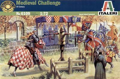 6109 - Medieval Challenge 1/72