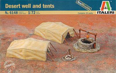 6148 - Desert Well & Tents 1/72