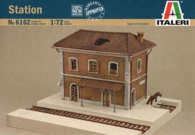 6162 - Train Station 1/72